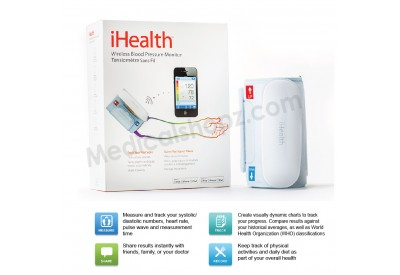 iHEALTH WIRELESS BLOOD PRESSURE MONITOR (Out of stock)