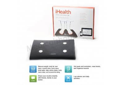 iHEALTH WIRELESS BODY ANALYSIS SCALE (Out of stock)