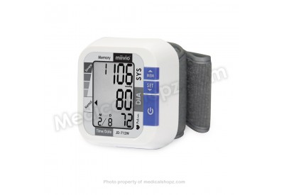 MIIVIO Blood Pressure Monitor (JD-712W) WRIST